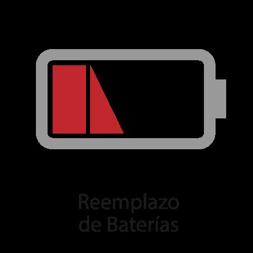 remplazo de baterías